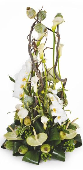 composition blanche l 39 instant envoyer des fleurs pour un. Black Bedroom Furniture Sets. Home Design Ideas