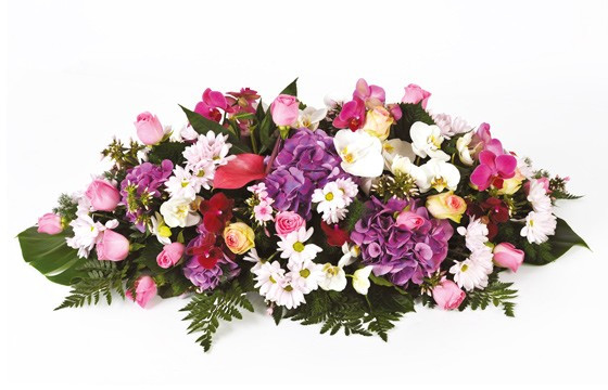 composition florale de deuil memory | livraison de fleurs de deuil