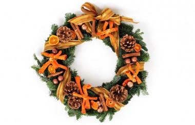 image de la Couronne de Noël Un Hiver en Provence