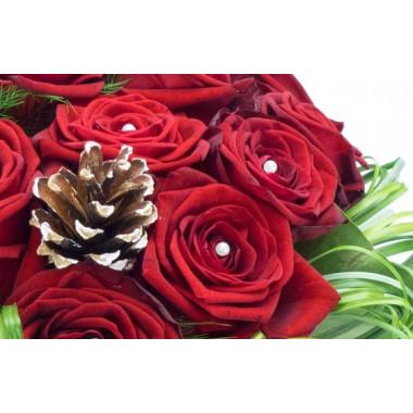 image des décoration du Bouquet de roses pour Noël Alhambra