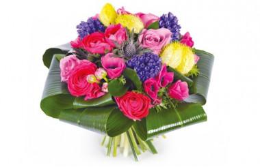 image du Bouquet rond de saison Sarah