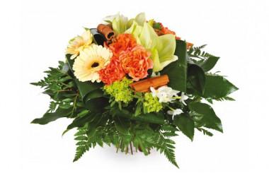 image du Bouquet de fleurs multicolore Confidence