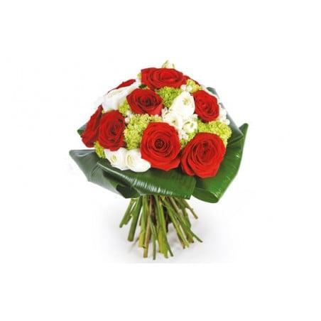Bouquet de roses renoncules envoyer des fleurs for Envoyer des fleurs a domicile