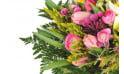 zoom sur le Bouquet rond champêtre Bohème