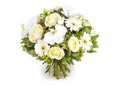 image du bouquet de fleurs Rêve blanc