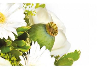 L'Agitateur Floral | zoom sur un pavot du bouquet floral