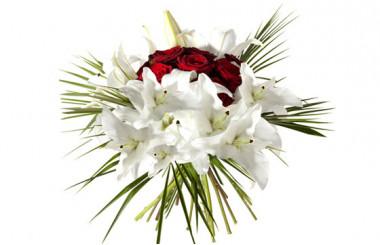 image du Bouquet rond Nid d'Amour