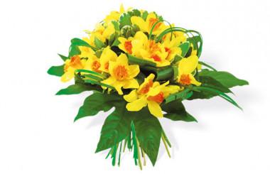 image du Bouquet de Jonquilles Délice Printanier