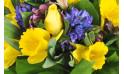 macro sur les fleurs du Bouquet de fleurs de saison Mamina
