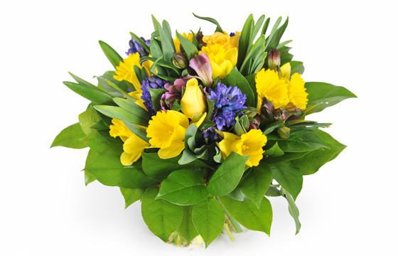 image du Bouquet de fleurs de saison Mamina