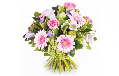 Image du bouquet de fleurs Reflet