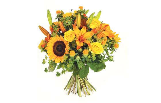 Image de couverture bouquet de fleurs jaunes Soleil