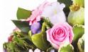 Zoom sur les fleurettes de saisons du bouquet Reflet