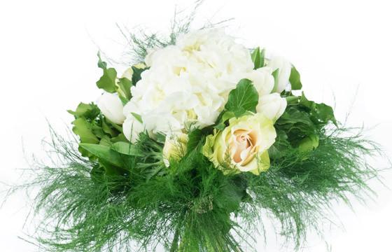 """Zoom principale du bouquet de fleurs """"Hortense"""""""