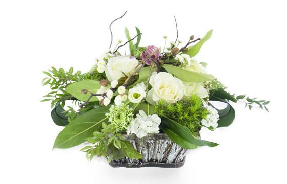 """Image principale composition de fleurs """"Lune de Miel"""""""