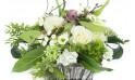 """Zoom composition de fleurs """"Lune de Miel"""""""