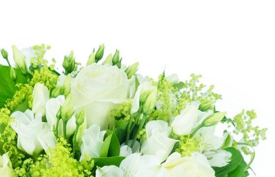 Bouquet Rond Tons Blancs Clarte Livraison De Fleurs Par Un