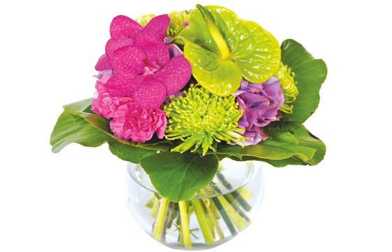 image du bouquet de fleurs Boudoir