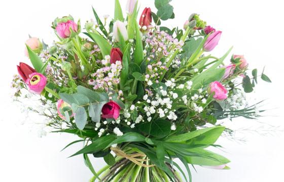 """Image zoom bouquet de renoncules """"Pimprenelle"""""""