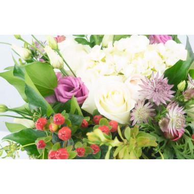 L'Agitateur Floral | Image gros zoom fleurs bouquet champêtre Barbotine