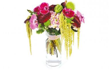 Image du bouquet de fleurs Caliente