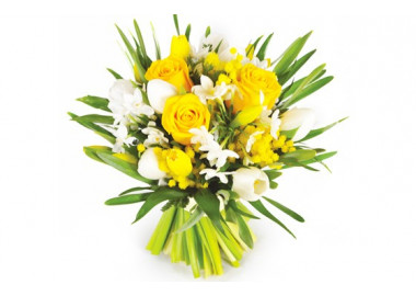 L'Agitateur Floral | Image du bouquet de fleurs Boucle D'Or