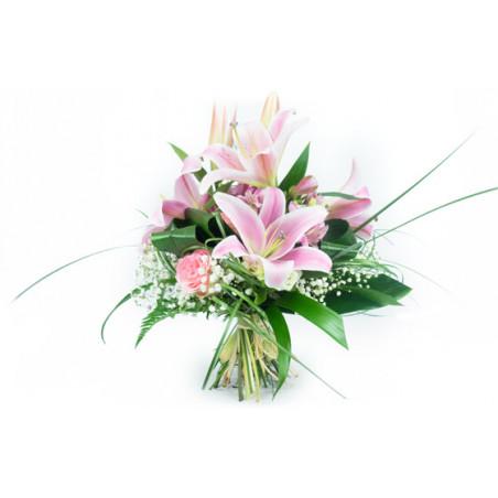 L'Agitateur Floral | image du bouquet de fleurs Rosa Lys