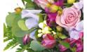 zoom sur un ensemble floral du bouquet Eclat