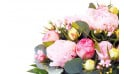 L'Agitateur Floral | zoom sur les pivoines du Bouquet de pivoines roses Camille