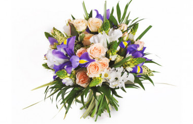L'Agitateur Floral | Image du bouquet de fleurs Reine