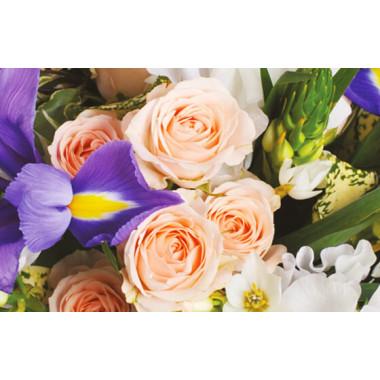 L'Agitateur Floral | zoom sur trois roses roses