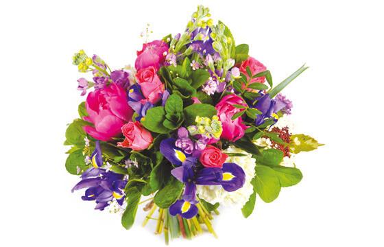 L'Agitateur Floral | image du bouquet de fleurs rond Boréales