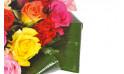 L'Agitateur Floral | zoom sur la droite du bouquet rond de roses