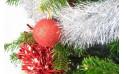 L'Agitateur Floral |image des décoration de Noël du Sapin de Noël Décoré Rouge et Argent