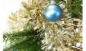 L'Agitateur Floral | zoom sur la décoration du Sapin de Noël Décoré Bleu et Or