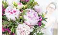 L'Agitateur Floral  Bouquet de fleurs surprise avec des Pivoines