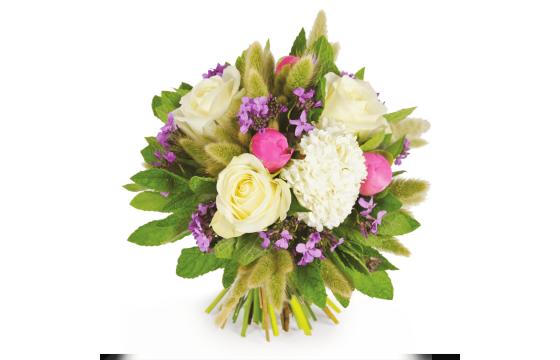 L'Agitateur Floral |Image du bouquet de fleurs rond Panache