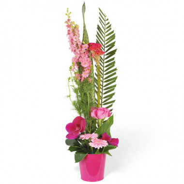 L'Agitateur Floral |Image de la composition de fleurs Lady