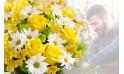 L'Agitateur Floral |image du Bouquet Surprise jaune et blanc