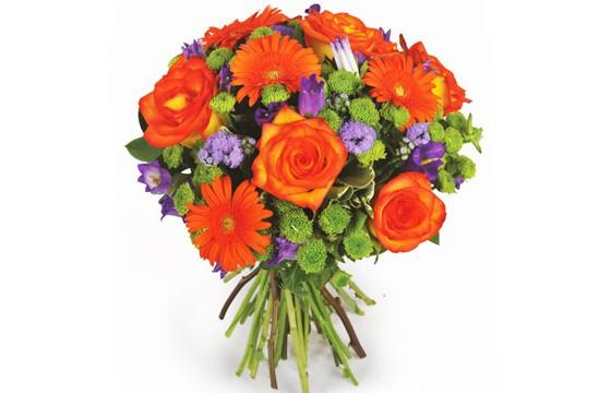 image du bouquet de fleurs majestueux