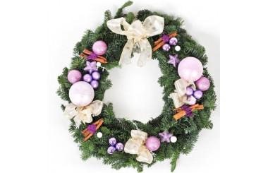 image de la Couronne de Noël Un Hiver en Bretagne