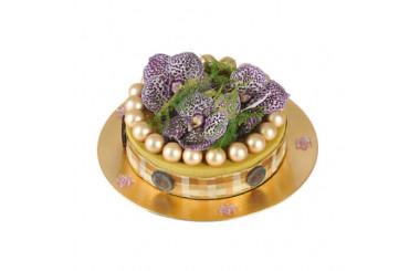 L'Agitateur Floral |image du Gâteau floral Prunelle & Petits Pois