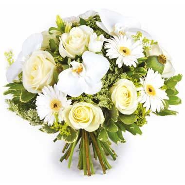 L'Agitateur Floral | image du bouquet de fleurs Rêve blanc