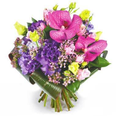L'Agitateur Floral | Image du bouquet rond de fleurs Perle d'O