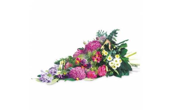 L'Agitateur Floral | image de la gerbe de deuil du nom de tendresse eternelle