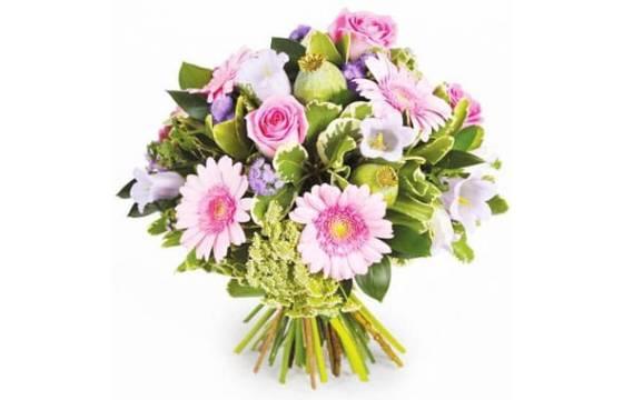 L'Agitateur Floral |Image du bouquet de fleurs Reflet