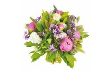 L'Agitateur Floral | Image de couverture bouquet de pivoines roses Monaco
