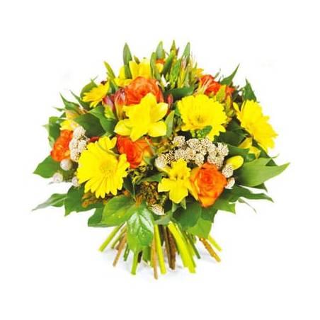 L'Agitateur Floral |Image du bouquet de fleurs rond Ambassadeur