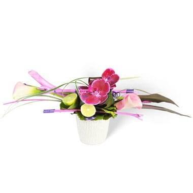 L'Agitateur Floral | Image de la composition florale Chrysalide