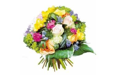 L'Agitateur Floral | Image de couverture bouquet de fleurs multicolore Fougue
